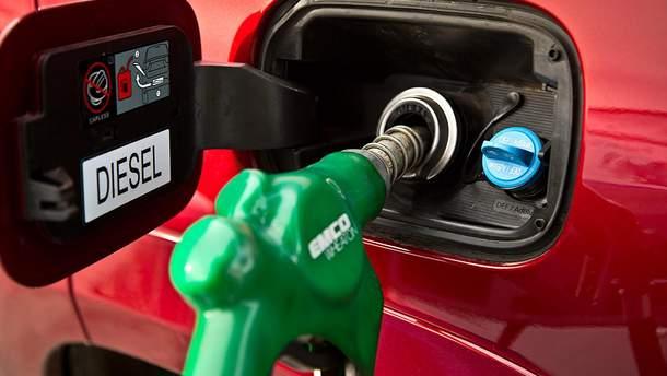 Тест дизельного пального на АЗС Києва