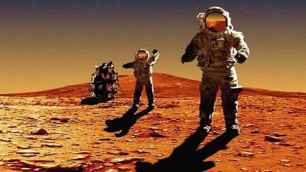 Подорожі на Марс виявилися небезпечними для життя космонавтів