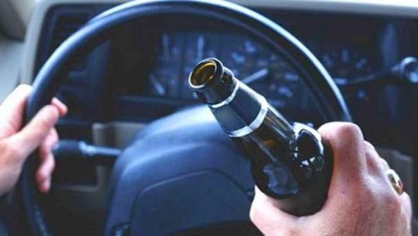 18-летний водитель был пьяным за рулем
