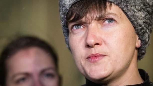 Савченко тайно ездила в оккупированный Донецк