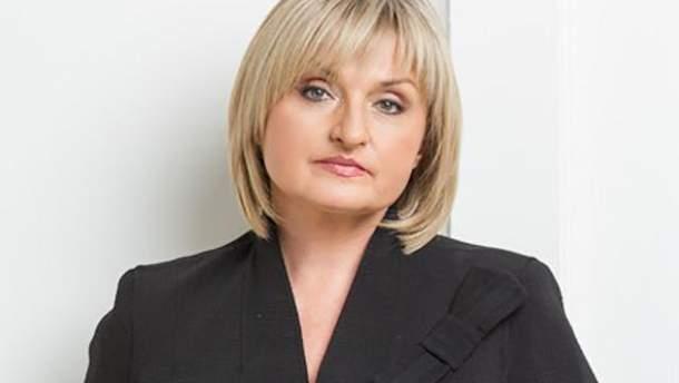 Ирина Луценко рассказала, сколько зарабатывает в месяц