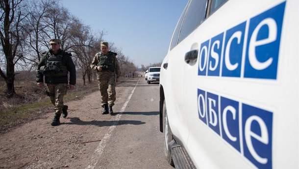 Залякування місії ОБСЄ