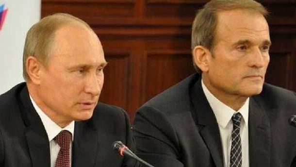 Путін зустрівся зі своїм кумом Медведчуком