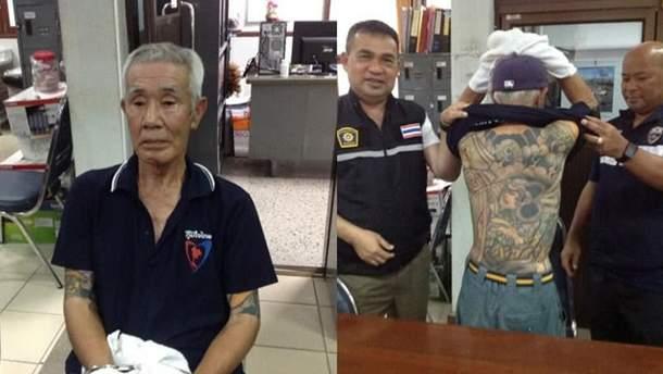 Арестовали главу японской мафии