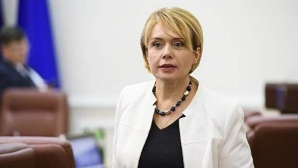 Гриневич заробила понад півмільйона за 2017 рік