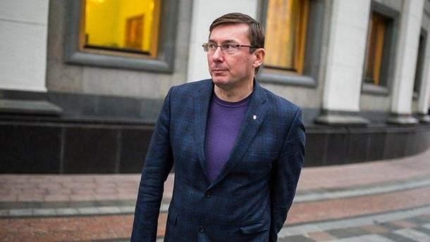 Луценко признался, что не сдавал на права