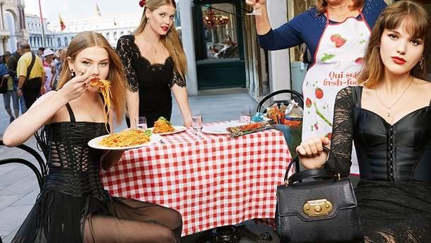 Кітті Спенсер для Dolce&Gabbana
