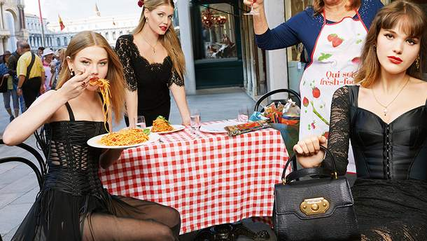 Китти Спенсер для Dolce&Gabbana