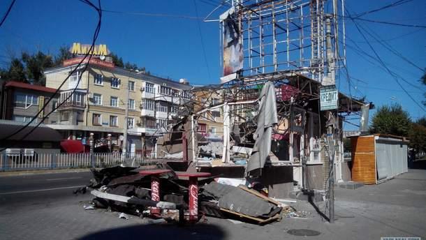 Лето 2014 в Луганске
