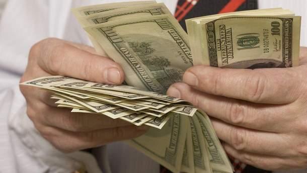 Наличный курс валют 12 января в Украине