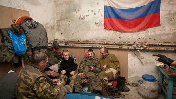 Российские террористы на Донбассе