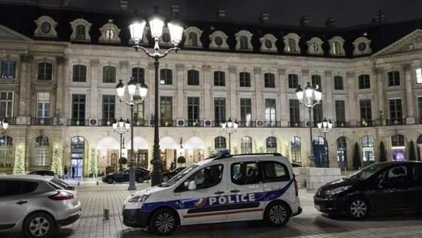 """В Париже ограбили фешенебельный отель """"Ритц"""""""