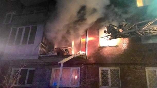 Наслідки вибуху у житловому будинку в Омську