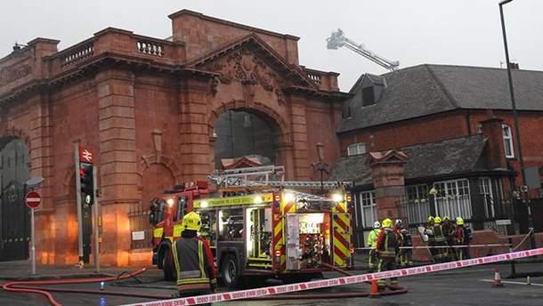 Пожар в Ноттингеме