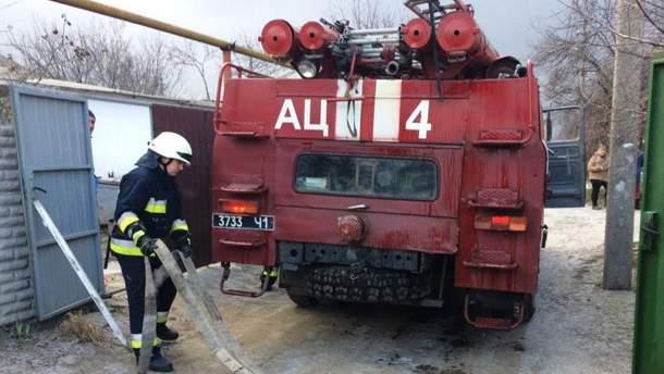 В результате пожара в одном из домов Днепра погибла женщина