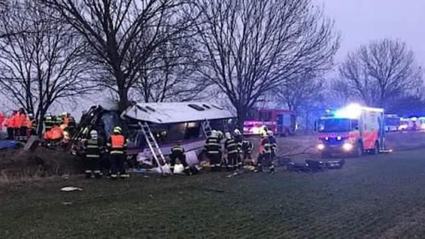 Аварія біля Праги