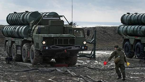 Зенітно-ракетний комплекс С-400 у Криму