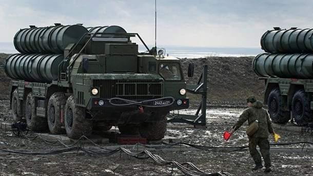 Зенитно-ракетный комплекс С-400 в Крыму