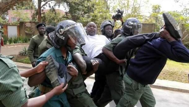 Протести у Замбії