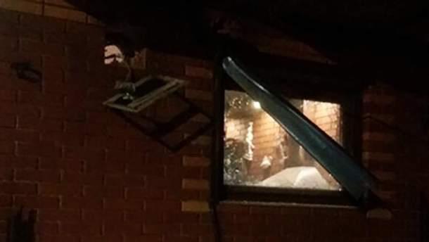 Неизвестный расстрелял из гранатомета кафе в Одесской области