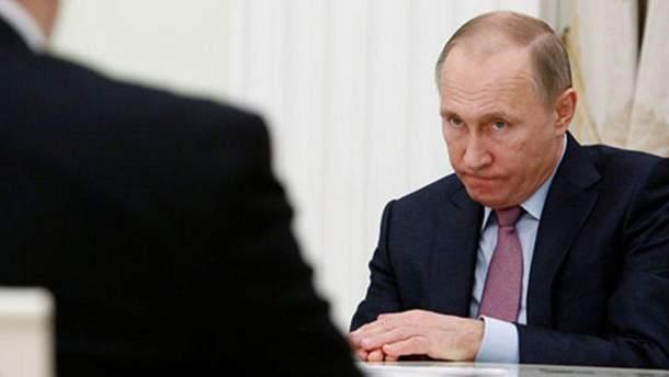 Какое слово не может произнести Путин