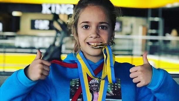 9-річна українська боксерка приголомшила соцмережі роликом з тренування