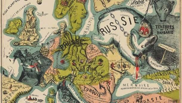 Карты Европы