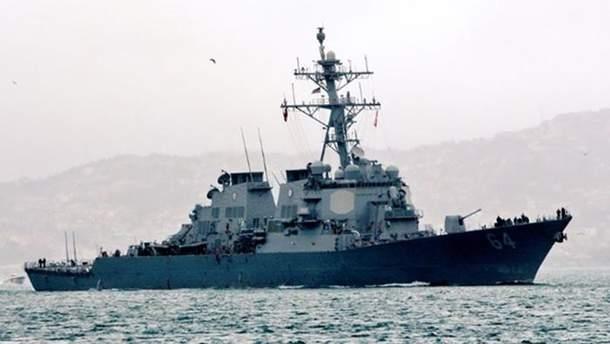 Американский эсминец Carney