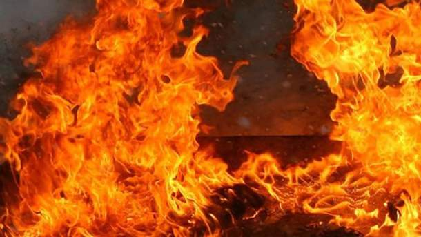 Пожар в Португалии