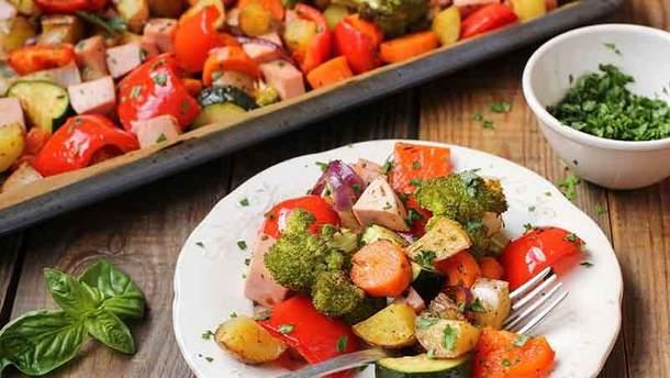 Как правильно запекать овощи