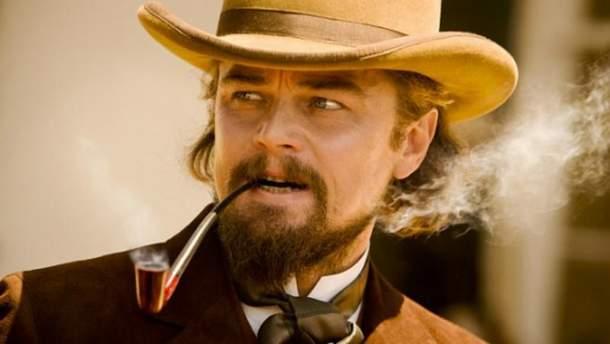 """Леонардо Ди Каприо. Кадр из фильма """"Джанго освобождённый""""."""