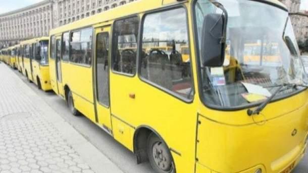 В Киеве дорожает проезд в маршрутках