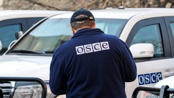 Місія ОБСЄ виявила техніку бойовиків на Донбасі