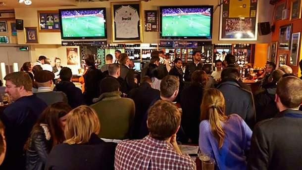В США во время просмотра футбола люди увидели тревожное сообщение