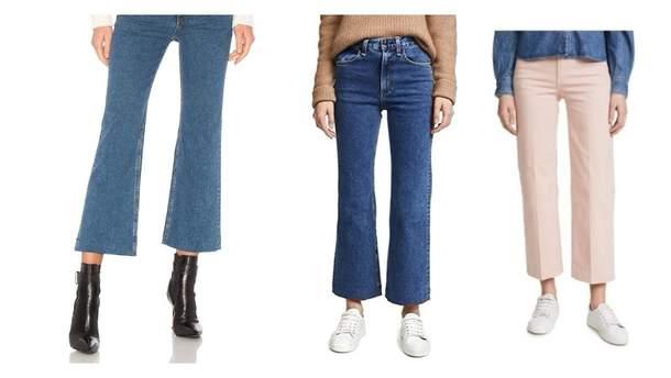 Трендовые джинсы в 2018