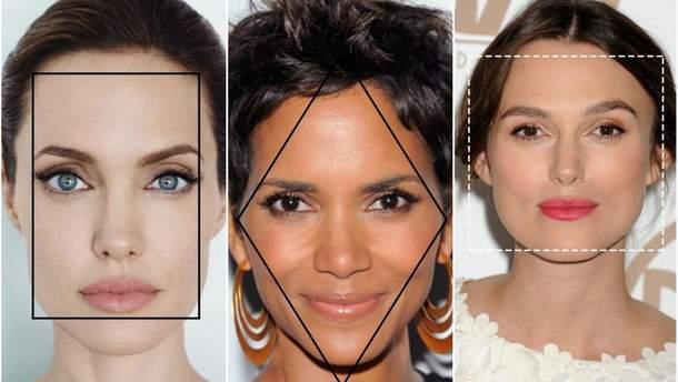 Як визначити форму обличчя