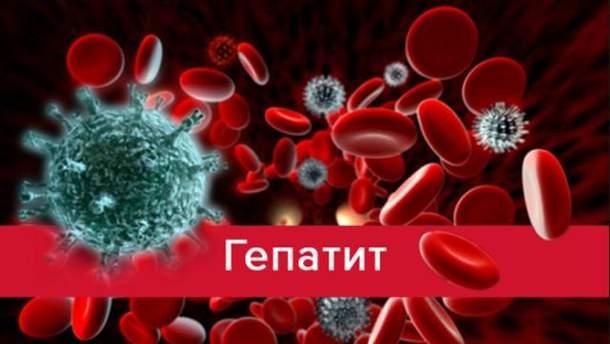 Гепатит А в Украине