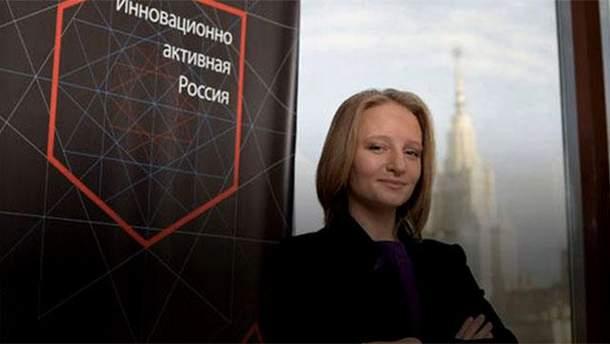Донька Путіна Катерина Тихонова ліквідувала свій фонд