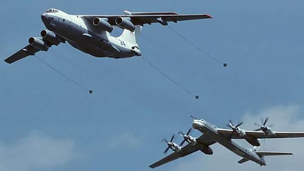 Російські бомбардувальники наблизились до узбережжя Бельгії