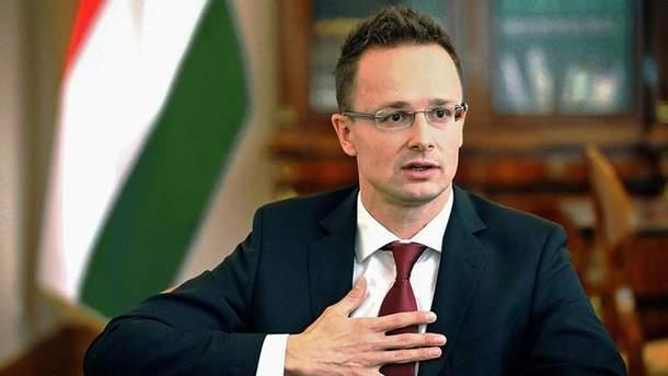 Петер Сійярто звинуватив Україну в утисках нацменшин