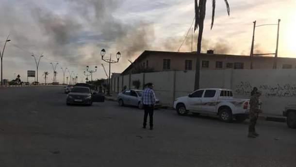 Нападение на аэропорт в Ливии