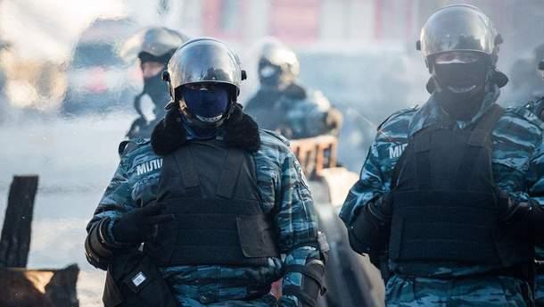 """""""Беркут"""" на Євромайдані"""