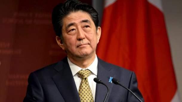 Японський прем'єр-міністр Сіндзо Абе