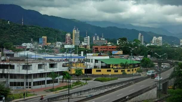 В Колумбии рухнул автодорожный мост