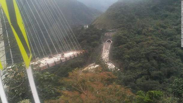 В Колумбии рухнул мост