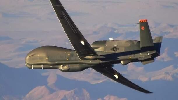 Американський безпілотник RQ-4A Global Hawk