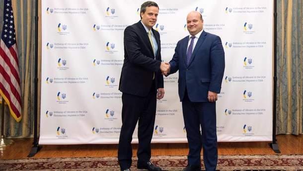 Встреча посла Украины и гендиректора General Electric