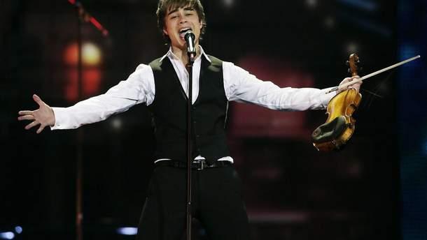 Победитель Евровидения-2009 Александр Рыбак