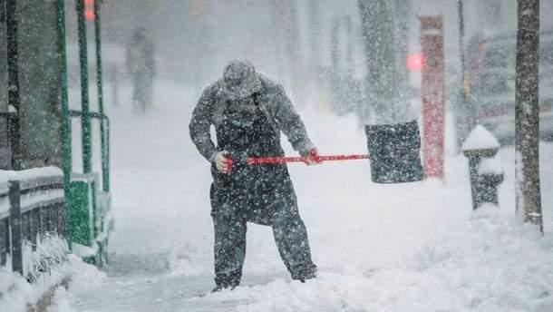 Коли в Україні випаде сніг