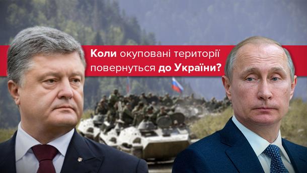 Як і коли Україна відновить контроль над окупованими територіями?
